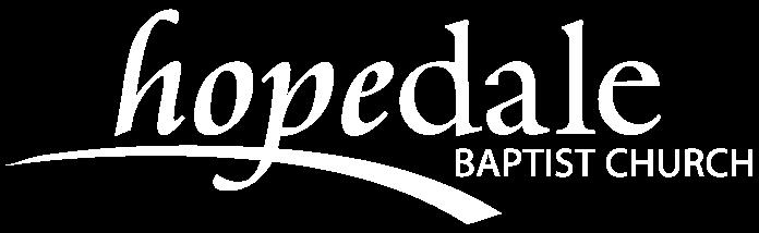 hopedale logo white